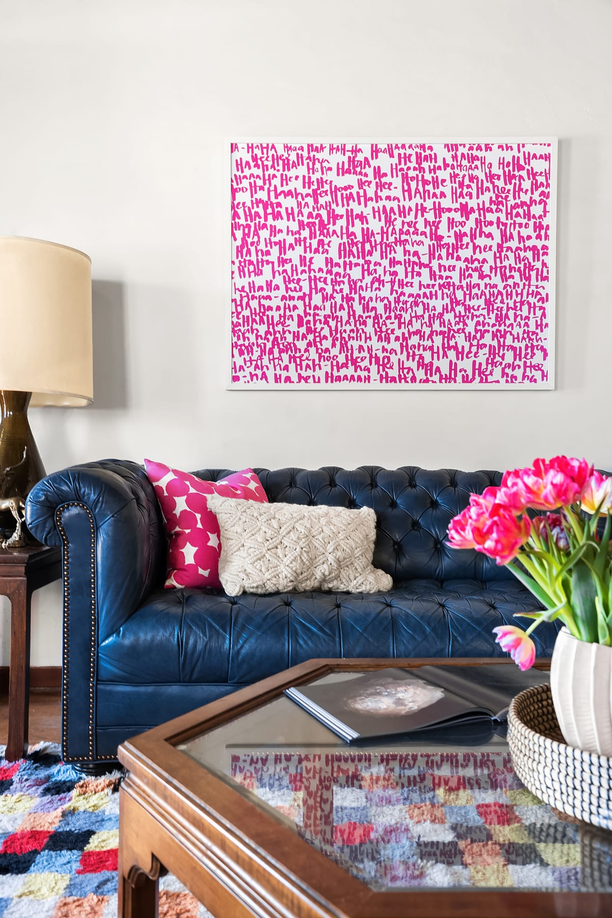 18th – Poster Couch Flowers