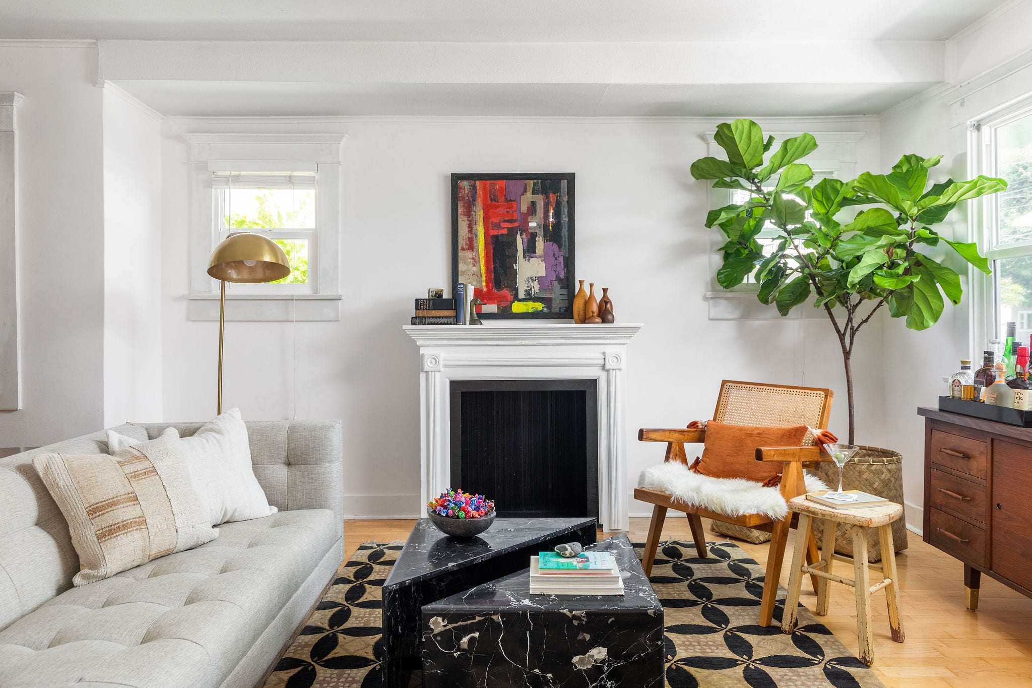 39th – Fireplace